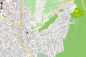 Waldspielplatz Karte