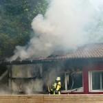 Jugendtreff Basket-2 in der Fasanerie abgebrannt – ca. 50.000 € Sachschaden