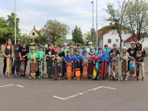 2155 - Longboard Skate Factory Wiesloch