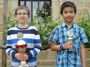 2173 - Schachjugend Cristiano Amato und Nam Do