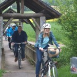 Leimbachroute eröffnet: 46 Kilometer idyllische Radstecke entlang des Leimbachs