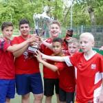 Schul-Soccer-Cup 2015: Wanderpokal zurück in Otto-Graf-Realschule Leimen