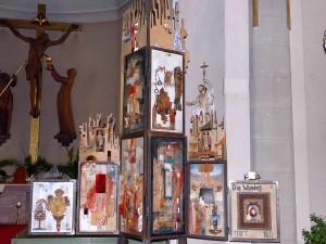 5124 - Passionsaltar mit Kreuzigungsgruppe kompr