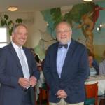 Kirchenpresse unter Druck: Konradsblatt-Chefredakteur Nientiedt bei Lunch & Spirit