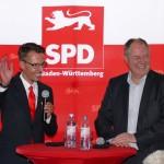 """Peer Steinbrücks Buchvorstellung """"Vertagte Zukunft"""" in Nußloch fand viele Zuhörer"""