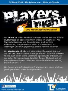 5316 - Playersnight