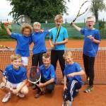 Tennis: Perfekter Spieltag der U12 Junioren und U14 Mädels