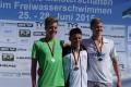 Silbermedaille für Leimener Leistungsschwimmer Torsten Rau