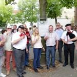 Leben wie Gott in Frankreich: </br>Bouleplatz St. Ilgen eingeweiht