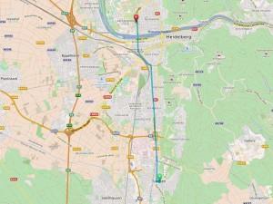 5406 - OSM Route Leimen-Klinikum