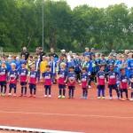 VfB Leimen stellte alle Mannschaften im Rahmen des Stadionfestes vor
