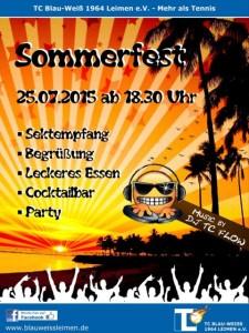 5422 - Sommerfest_2015 Plakat