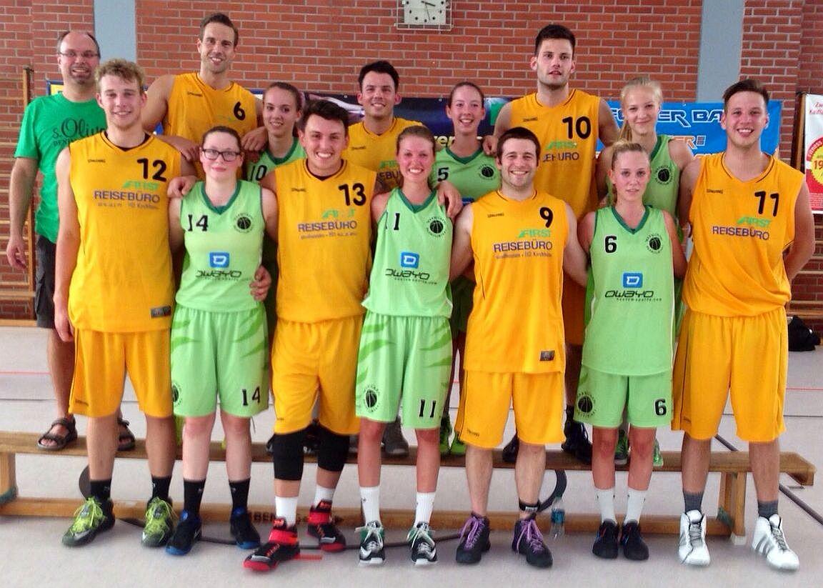 überzeugender Wettkampf Des Basketballteams Sandhausen Leimen