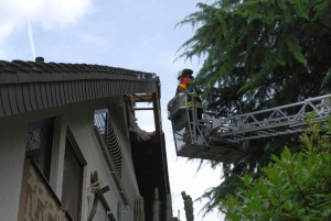5434 - Blitzeinschlag Walldorf