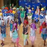 """Schüler der Turmschule Leimen führten Musical """"Im Riff geht´s rund"""" auf"""
