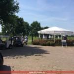 DRK Leimen zur Absicherung beim Golf Club St. Leon-Rot