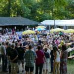 """Waldfest der Leimener Liedertafel: </br>""""Oben"""" im Wald kann man es gut aushalten"""