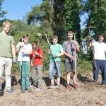 Sisyphusarbeit Sandhäuser Düne: Massenhafte Pollen und Sameninvasion aus der Mühllach