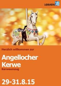 5542 - Angellochere Kerwe Plakat