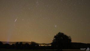7716 - Perseiden - Sternschnuppe - Komet 2
