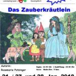 """Possenreisser spielen """"Das Zauberkräutlein"""" von Rosemarie Potzinger"""