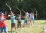 Bogensport findet großen Anklang: 40 Kinder testeten ihre Robin-Hood-Fähigkeiten