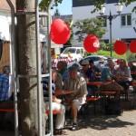 SPD Brunnenfest in St. Ilgen bei tropischen Temperaturen