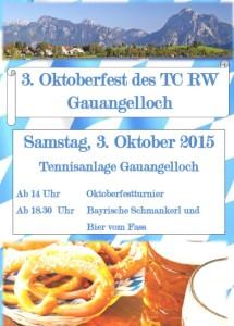 5615 - TC GA - Plakat Oktoberfest