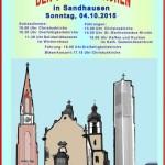 4. Oktober: Ökumenischer Tag der offenen Kirchen in Sandhausen