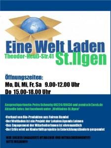 5643 - Weltladen Plakat