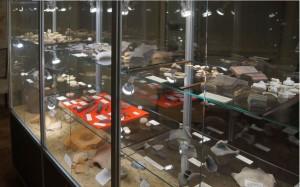 5660 - VitrineA Heimatmuseum Sandhausen