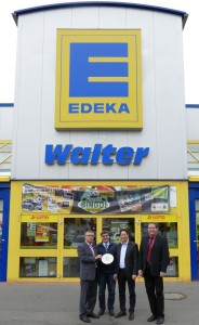 Neues Logo: Edeka-Markt Walter