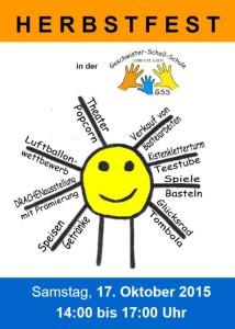 5692 - Herbstfest GSS Plakat