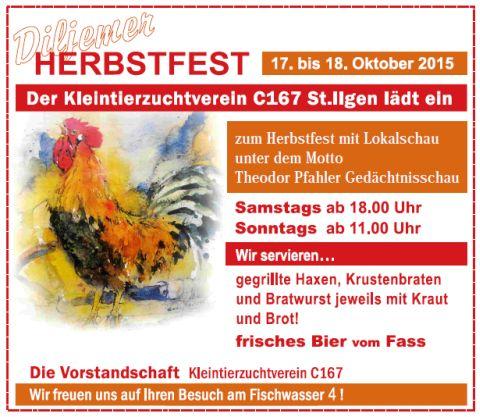 5698 - Herbstschau KTZ Plakat