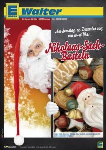 5977 - Edeka Nikolaussack und Xmas Plakat 480
