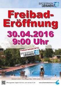 6926 - Freibad Plakat 480