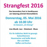 Am Vatertag: FDP Strangfest in Sandhausen