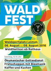7681 - Waldfest Liedertafel 480