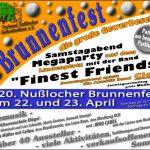 20. Nußlocher Brunnenfest am kommenden Wochenende