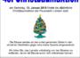 13. Januar: Christbaumaktion der Jugendfeuerwehren in Leimen, Gauangelloch und St. Ilgen