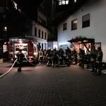 Brand in der Mühle in Dielheim