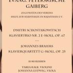 18. Oktober: Musik am Abend in der Evangelischen Peterskirche in Gaiberg