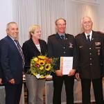 Ehrungen bei der Nusslocher Feuerwehr – Rüdiger Kaul erhielt Feuerwehrkreuz in Silber