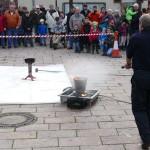Nußlocher Feuerwehr-Hauptübung: </br>So benutzen Sie den Feuerlöscher richtig!