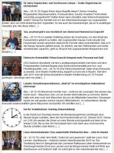 5831 - Newsletter screenshot