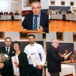 Ehrung verdienter Blutspender in Nußoch durch Bürgermeister Rühl