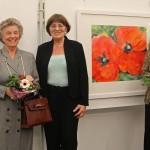 """Naturverbundenheit und """"Eigen-Art"""" </br>Helga Lang Ausstellung in Sandhausen"""