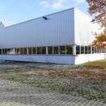 Leimen: Kreis richtet Notunterkunft in Gewerbehalle für bis zu 300 Flüchtlinge ein
