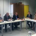 CDU-Kreistagsfraktion informierte sich im Zentrum beruflicher Schulen Schwetzingen