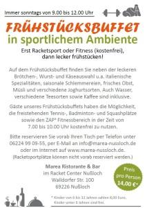 5937 - Marea Frühstücksbuffet